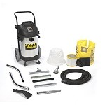 Shop-Vac Commercial Professional 10 Gallon Stainless Steel Wet/Dry Vacuum Cleaner w/ HD  - 4.0 Peak HP