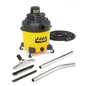 Shop-Vac Contractor Duty 12 Gallon Wet/Dry Vacuum - 2.0 Peak HP Two-Stage Motor