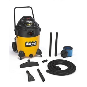 Shop-Vac Right Stuff 24 Gallon Wet/Dry Vacuum w/ Handle & Wheels - 6.5 Peak HP