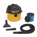 Shop-Vac Right Stuff 2.5 Gallon Wet/Dry Vacuum - 2.0 Peak HP