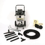 Shop-Vac Industrial Heavy-Duty 10 Gallon Stainless Steel Wet/Dry Vacuum - 3.0 Peak HP Two Stage Motor