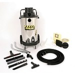 Shop-Vac Industrial Heavy-Duty 20 Gallon Stainless Steel Wet/Dry Vacuum - 3.0 Peak HP Two Stage Motor