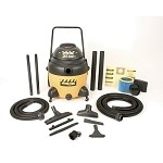 Shop-Vac Industrial Multi-Purpose 16 Gallon Wet/Dry Vacuum - 2.5 Peak HP Two Stage Motor