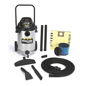 Shop-Vac Right Stuff Stainless Steel 10 Gallon Wet/Dry Vacuum - 6.5 Peak HP